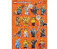 71011 Lego Минифигурка 15-й выпуск (неизвестная, 1 из 16 возможных), фото 4