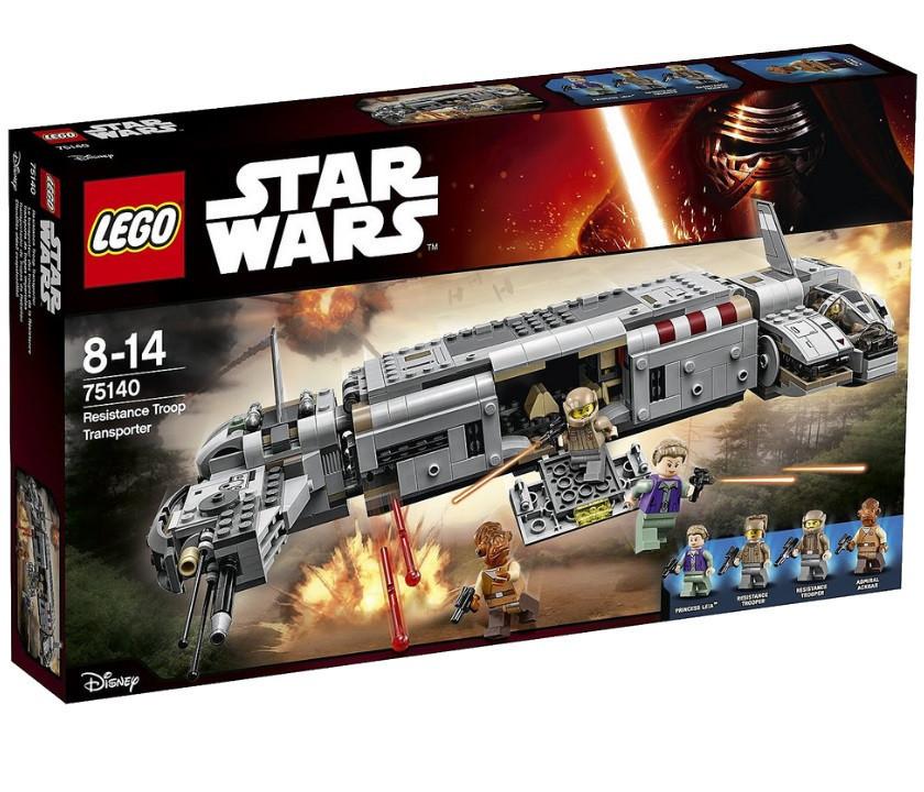 75140 Lego Star Wars Военный транспорт Сопротивления™, Лего Звездные войны