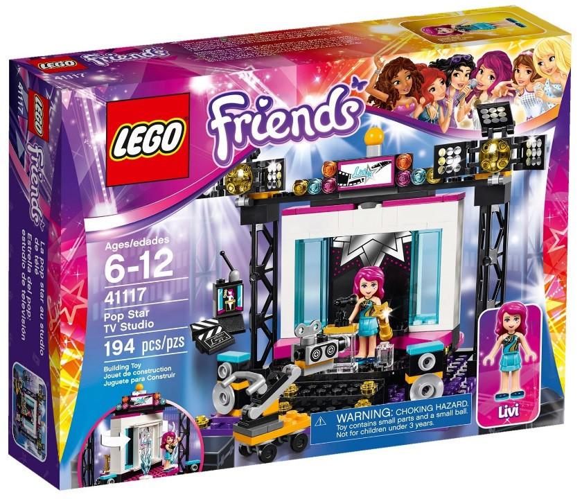 41117 Lego Friends Поп-звезда телестудия, Лего Подружки
