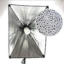 Студийный софтбокс 50см × 70см на стойке с LED лампой на 40W, фото 3