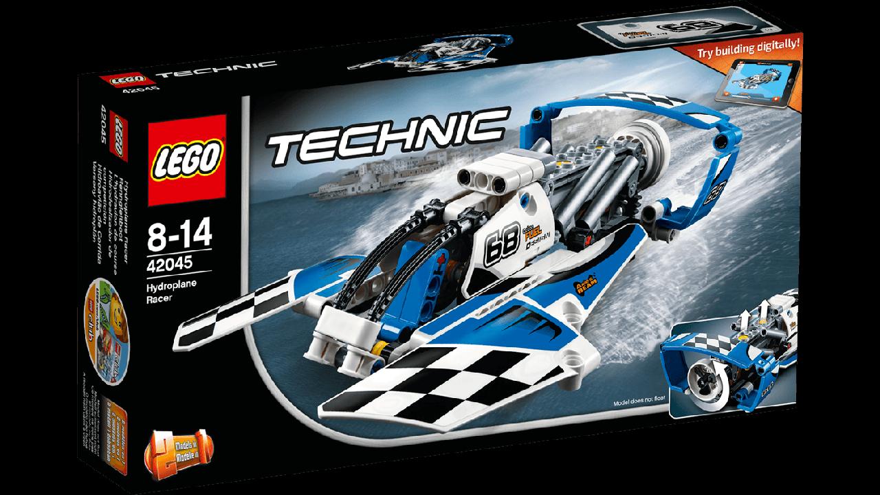 42045 Lego Technic Гоночный гидроплан, Лего Техник