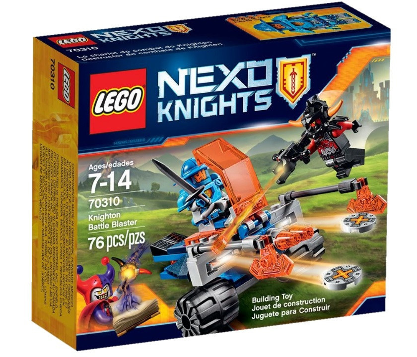 70310 Lego Nexo Knights Королевский боевой бластер, Лего Рыцари Нексо