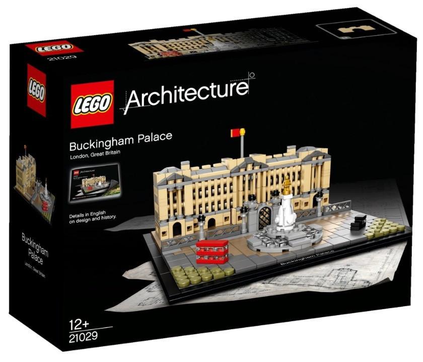 21029 Lego Architecture Букингемский дворец, Лего Архитектура