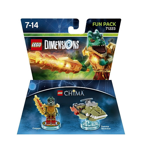 71223 Lego Dimensions CHIMA Краггер (Fun Pack)