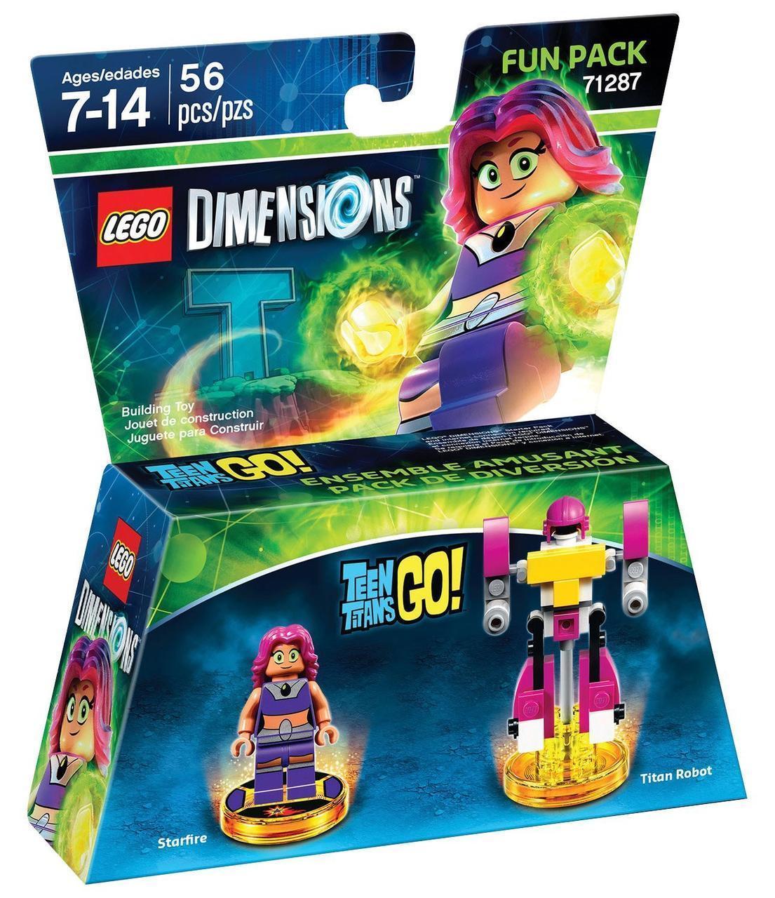 71287 Lego Dimensions Юные Титаны Старфаер (Fun Pack)