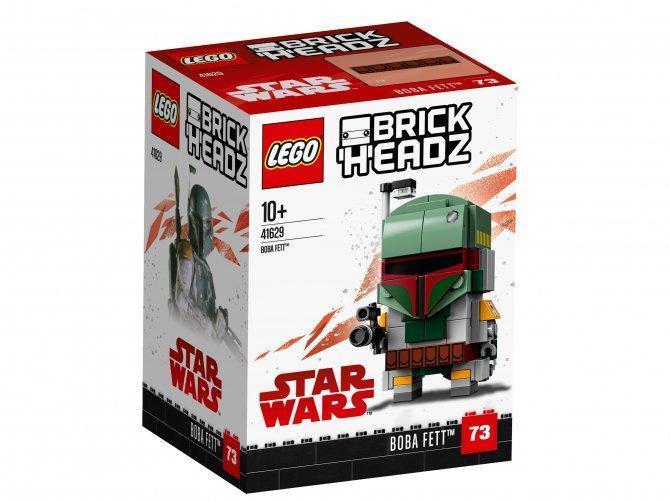 41629 Lego BrickHeadz Боба Фетт, Лего БрикХедз