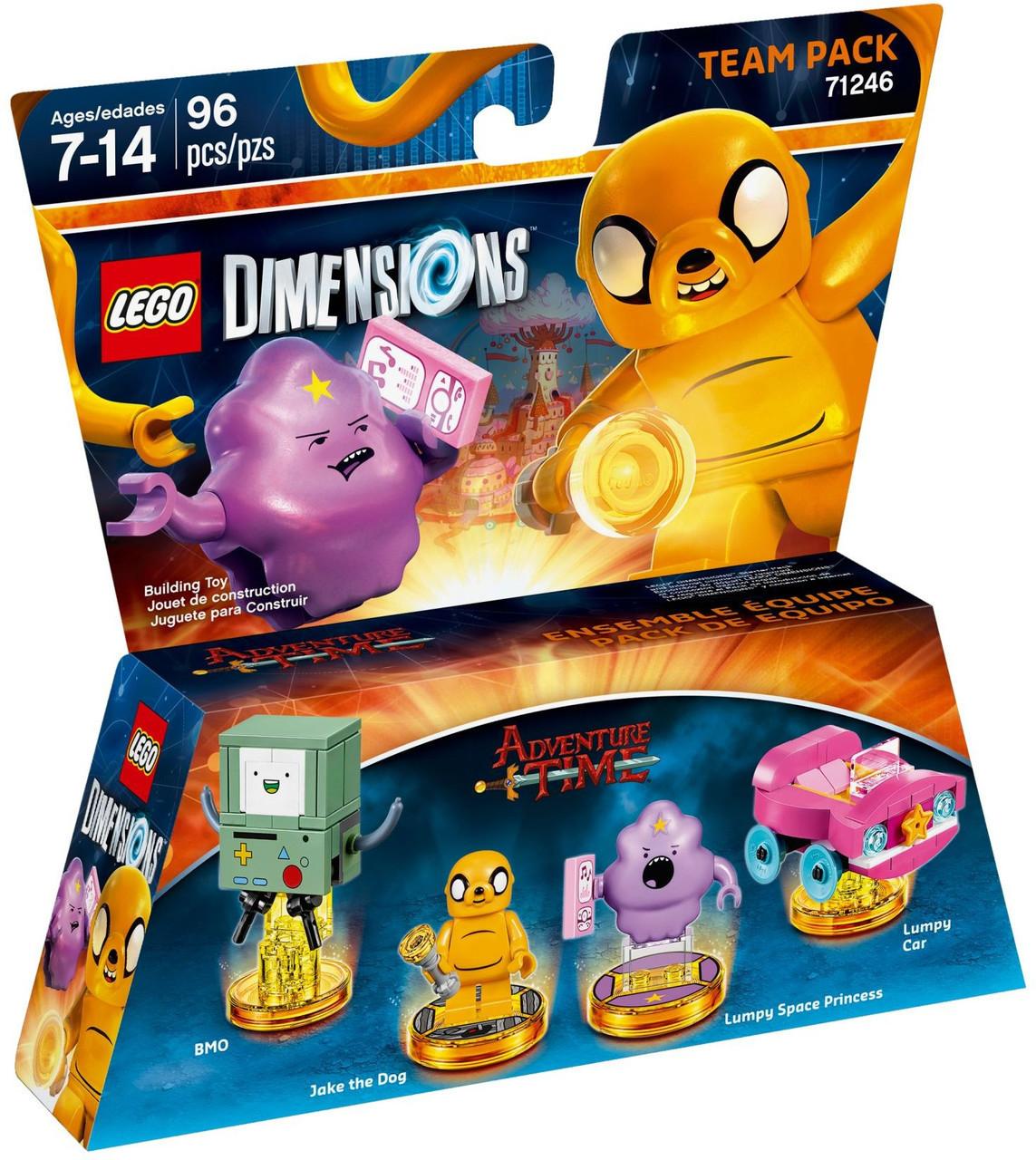 71246 Lego Dimensions Время приключений (Team Pack)
