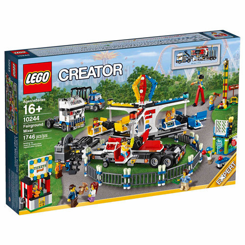 10244 Lego Creator Ярмарочная кутерьма