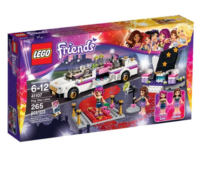 41107 Lego Friends Поп-звезда: Лимузин, Лего Подружки