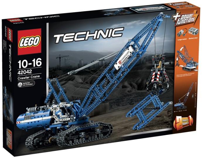 42042 Lego Technic Гусеничный кран, Лего Техник