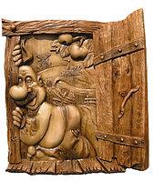 Деревянные панно (картины) для Сауны