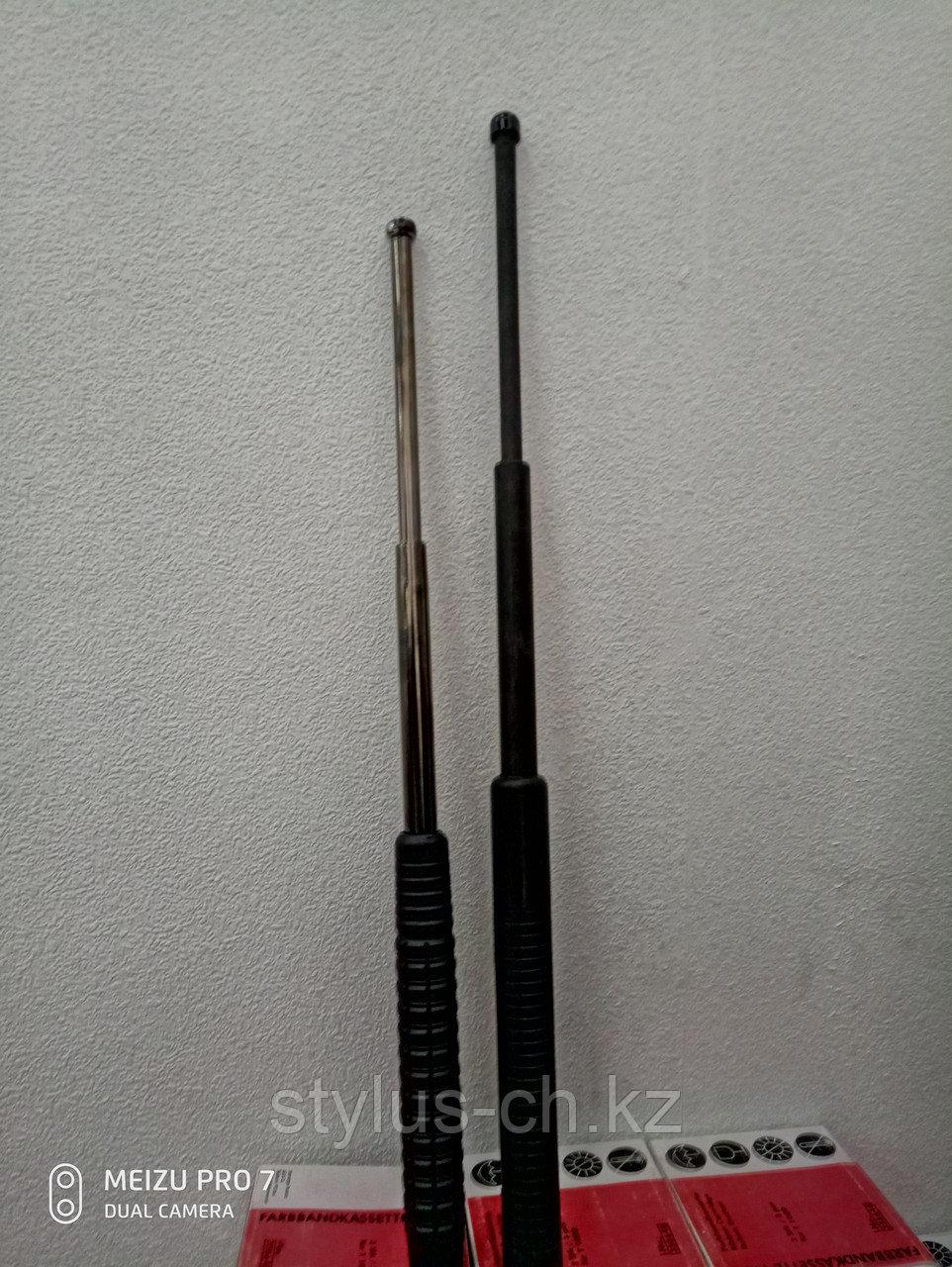 Резиновые и металлические телескопические палки