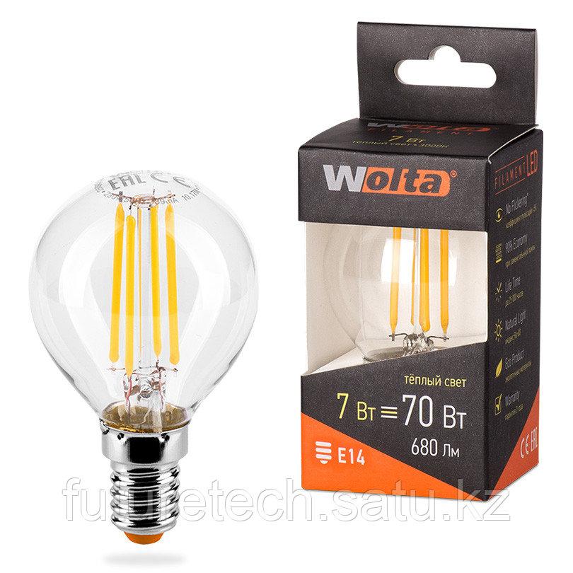 Лампа светодиодная 25Y45GLFT7E14 - фото 1