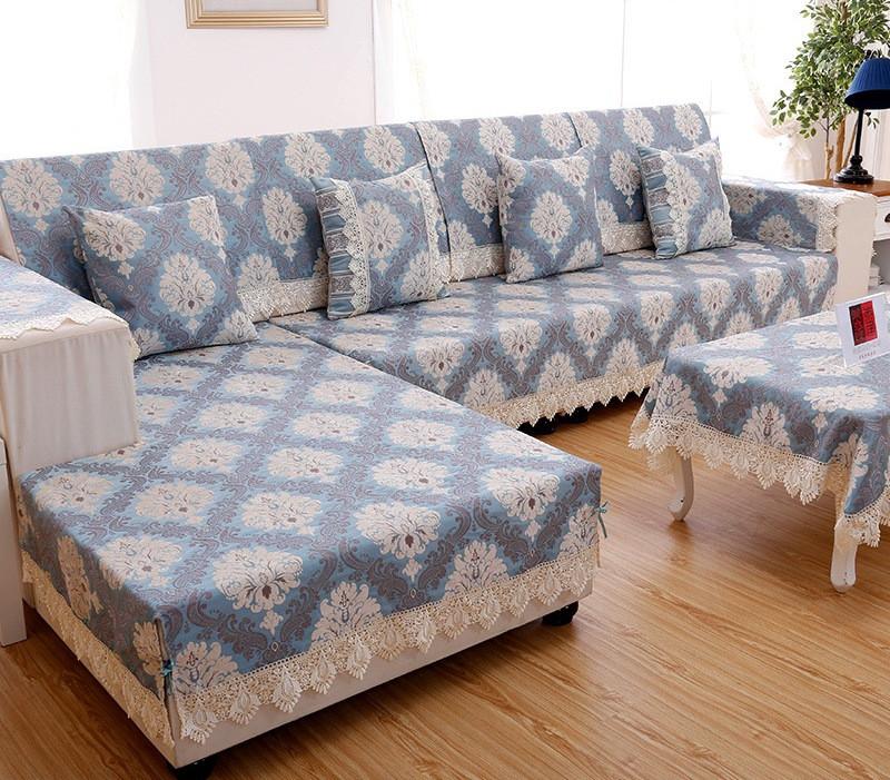 Чехол на угловой диван. Пошив. - фото 1