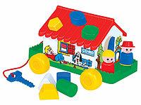 Игровой дом в сеточке (пол)