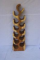 Подставка для Вина. Эксклюзивный декор из экзотической породы дерева.