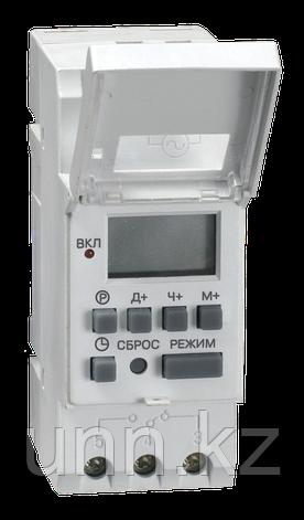 Таймер ТЭ15 цифровой 16А 230В на DIN-рейку IEK, фото 2