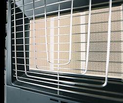 Ballu BIGH-55 F: Газовый инфракрасный обогреватель c электрическим тепло-вентилятором, фото 2