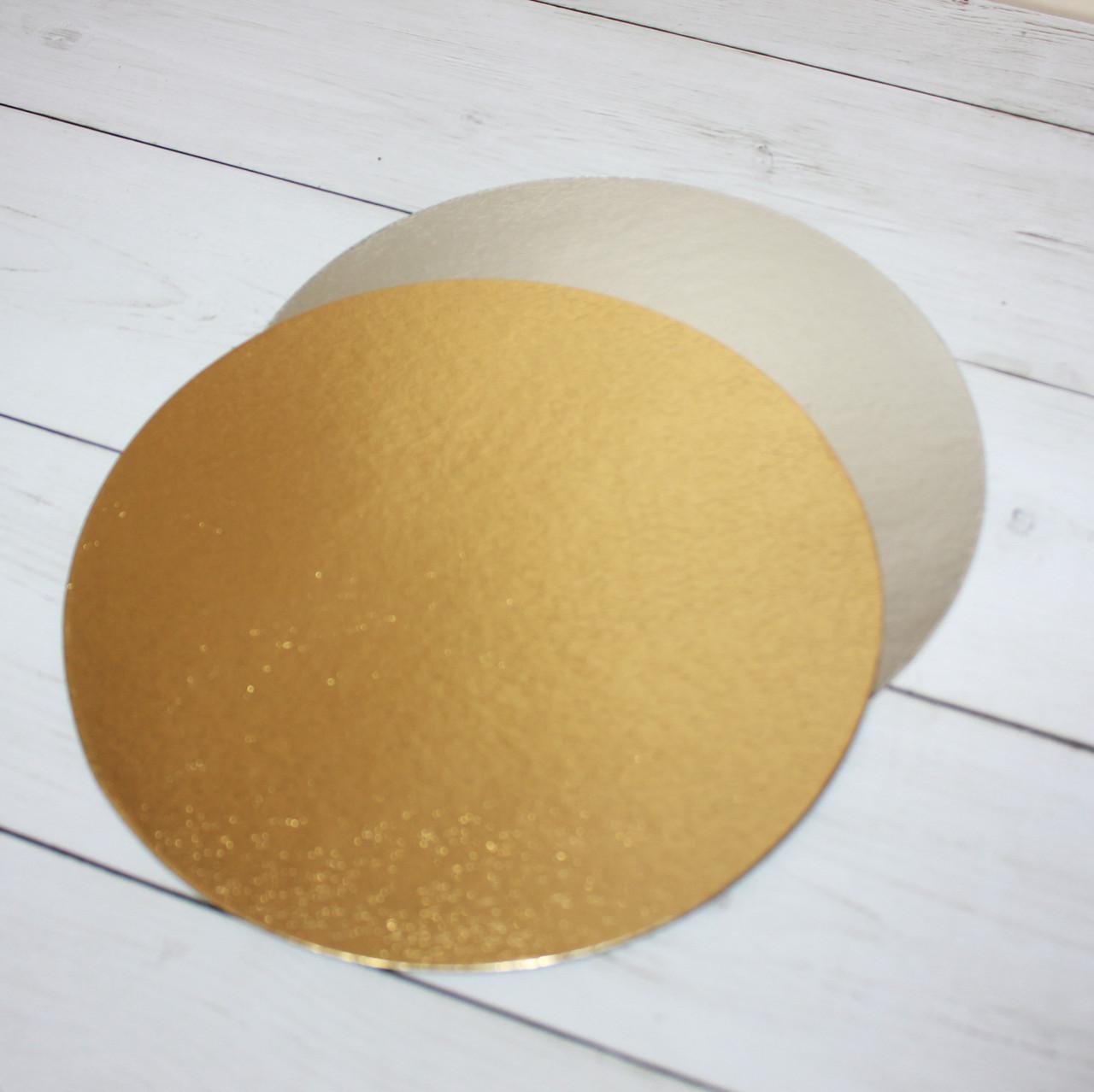 Подложка под торт 32 см (двухсторонняя)
