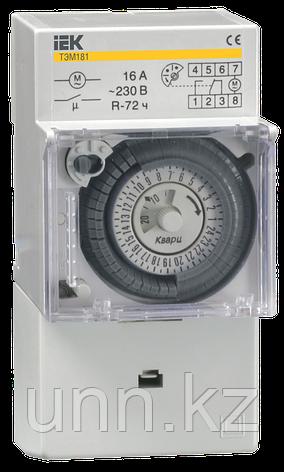 Таймер ТЭМ181 аналоговый 16А 230В на DIN-рейку IEK, фото 2