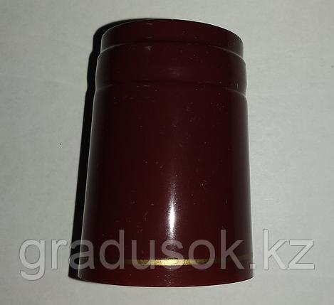 Термоколпачок для винных бутылок бордовый, фото 2