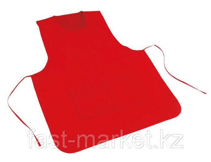 Фартук двухсторонний, цвет красный
