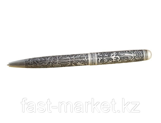 Ручка в футляре с рисунком