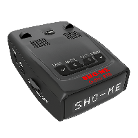 Радар-детектор Sho Me G 800 STR GPS