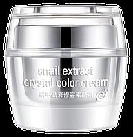 Кристальная снова под макияж Rorec Snail Extract Crystal