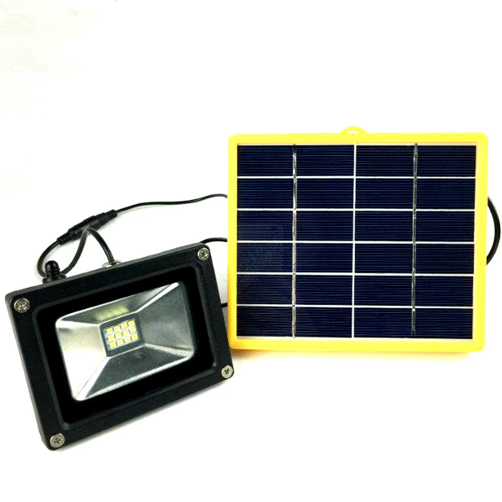 Прожектор на солнечных батареях 40W.