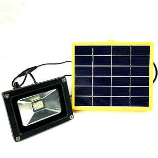 Прожектор на солнечных батареях 25W