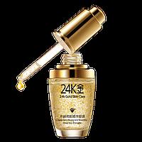 Гиалуроновая сыворотка с хлопьями золота BioAqua 24К Skin Gold Care