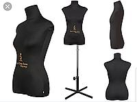 Royal Dress Forms- CHRISTINA(Черный) Портновский мягкий манекен