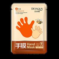 Медовая маска для рук BioAqua Hand Mask