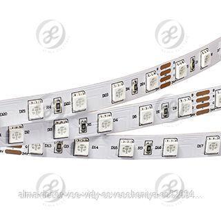 Лента RT 2-5000 24V Blue 2x (5060, 300 LED, LUX)