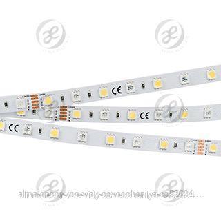 Лента RT6-5050-60 24V RGB-White 2x (300 LED)
