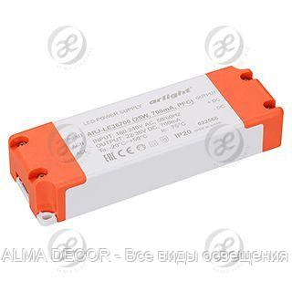 Блок питания ARJ-LE36700 (25W, 700mA, PFC)