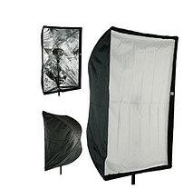 Зонт - софтбокс 60 × 90 с головкой для вспышки, фото 3