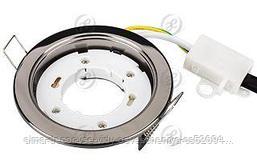Светодиодная лампа Рамка GX53 106BC Черный хром
