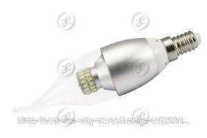 Светодиодная лампа E14 CR-DP-Flame 6W Warm White 220V