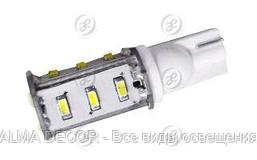 Автолампа ARL-T10-15N1 White (10-30V, 15 LED 3014)