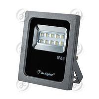 Светодиодный прожектор AR-FLG-FLAT-ARCHITECT-10W-220V White 50x70 deg
