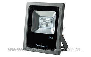 Светодиодный прожектор AR-FLG-FLAT-20W-220V Blue