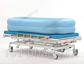 Надувная ванна из винила для мытья больных на кровати (с электронасосом), фото 3