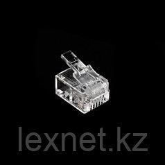 Коннектор, SHIP, S901C, RJ 11, (100 штук в пакете)