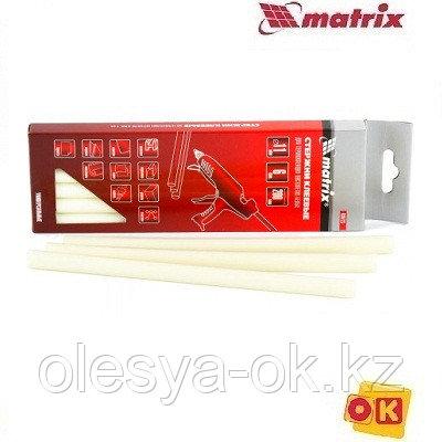 Стержни клеевые 11 х 200 мм, 6 шт. (белые) MATRIX