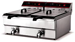 Фритюрница промышленная для фаст фуда ZH-102V