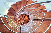 Винтовая лестница из нержавеющей стали
