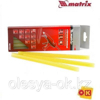 Стержни клеевые 11 х 200 мм, 12 шт. (жёлтые) MATRIX