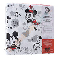 """Постельное белье""""Микки Маус и его друзья: Микки и Минни"""" 1,5сп бязь, фото 5"""